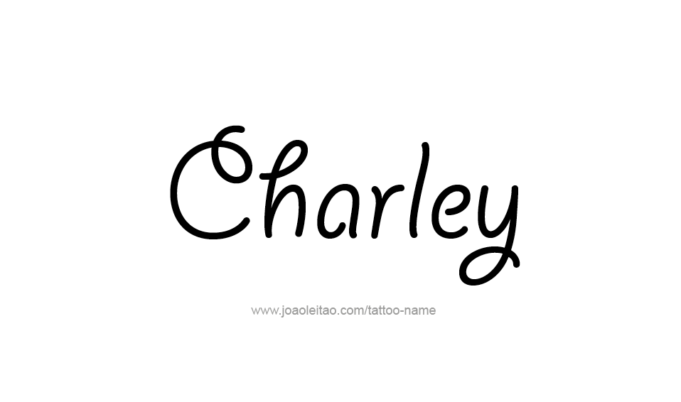 Tattoo Design Name Charley