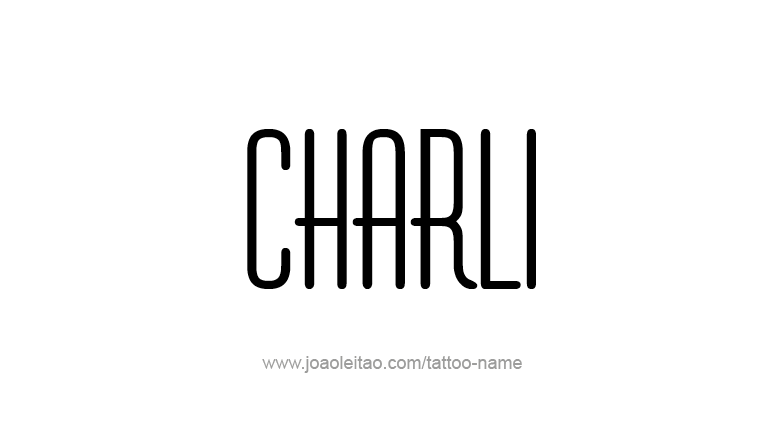Tattoo Design Name Charli
