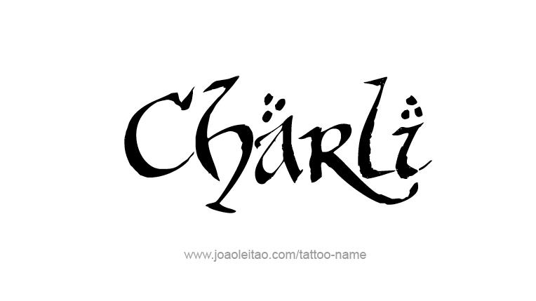 Tattoo Design Name Charli