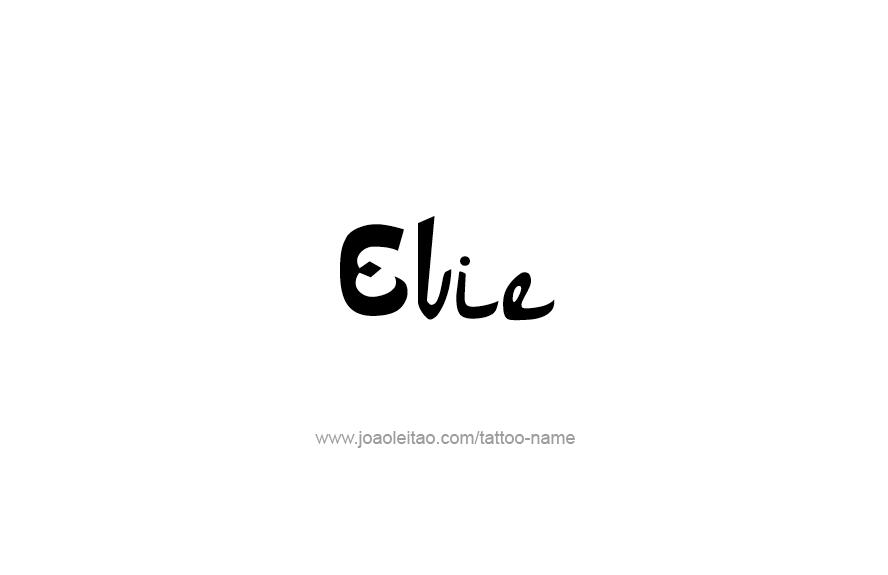 Tattoo Design Name Evie