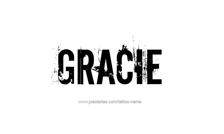 Tattoo Design Name Gracie