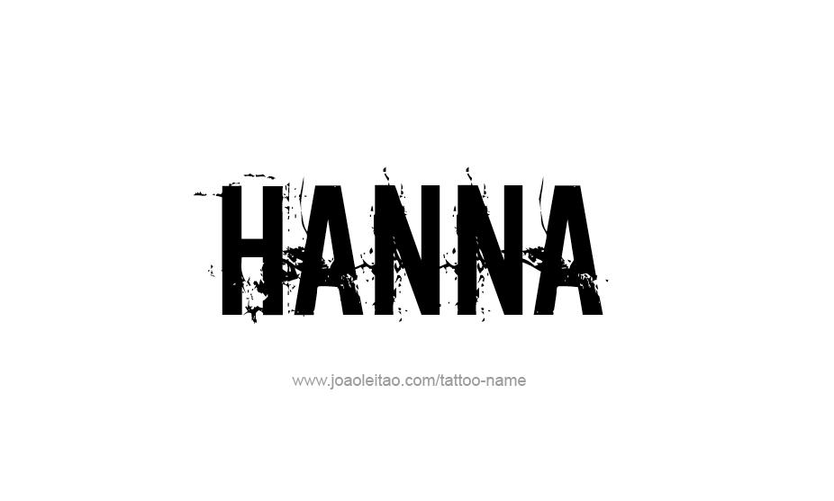Hanna Name