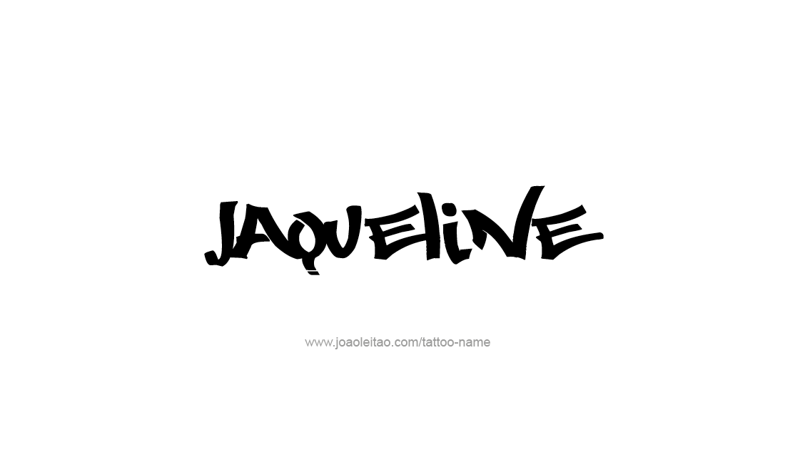 Tattoo Design Name Jaqueline