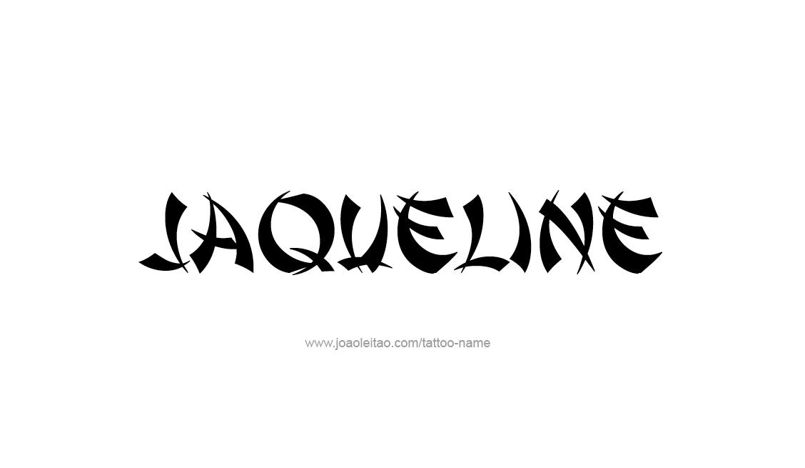 Tattoo Design Name Jaqueline