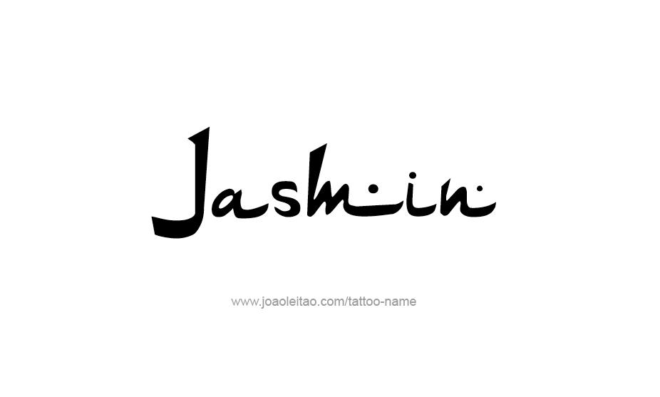 Tattoo Design Name Jasmin
