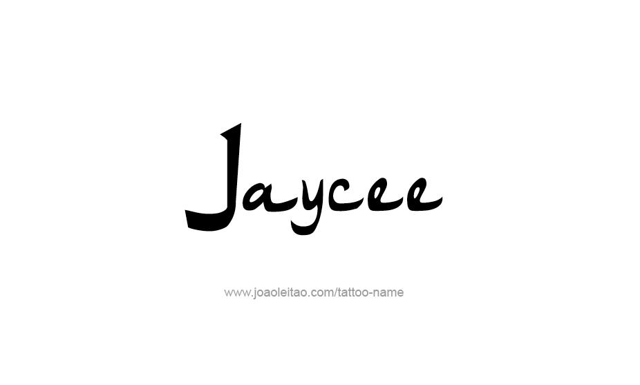 Tattoo Design Name Jaycee