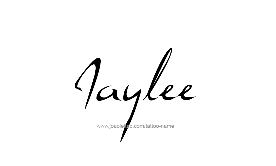 Tattoo Design Name Jaylee