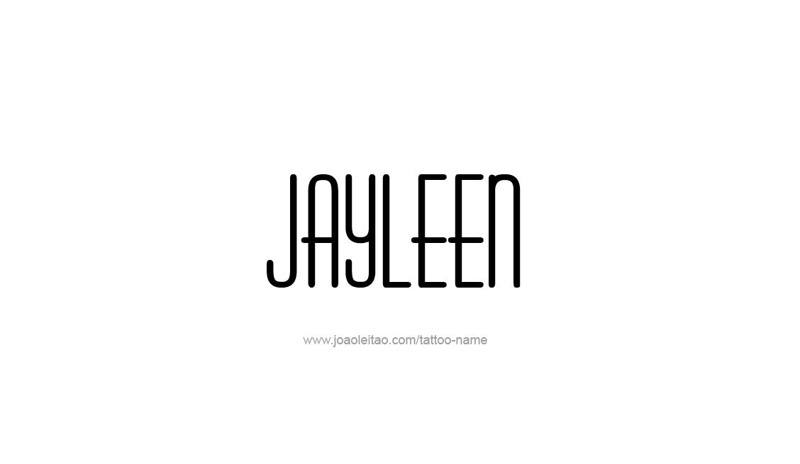 Tattoo Design Name Jayleen