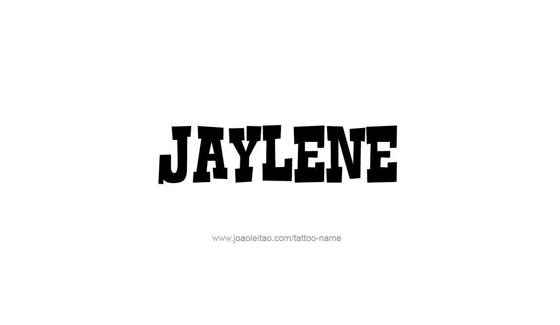 Tattoo Design Name Jaylene