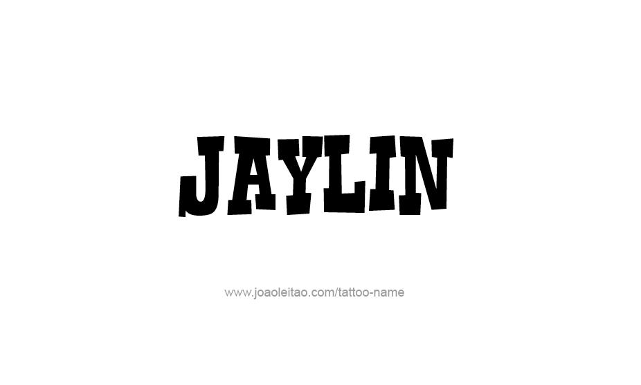 Tattoo Design Name Jaylin