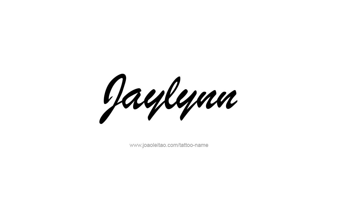 Tattoo Design Name Jaylynn