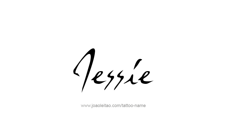Tattoo Design Name Jessie