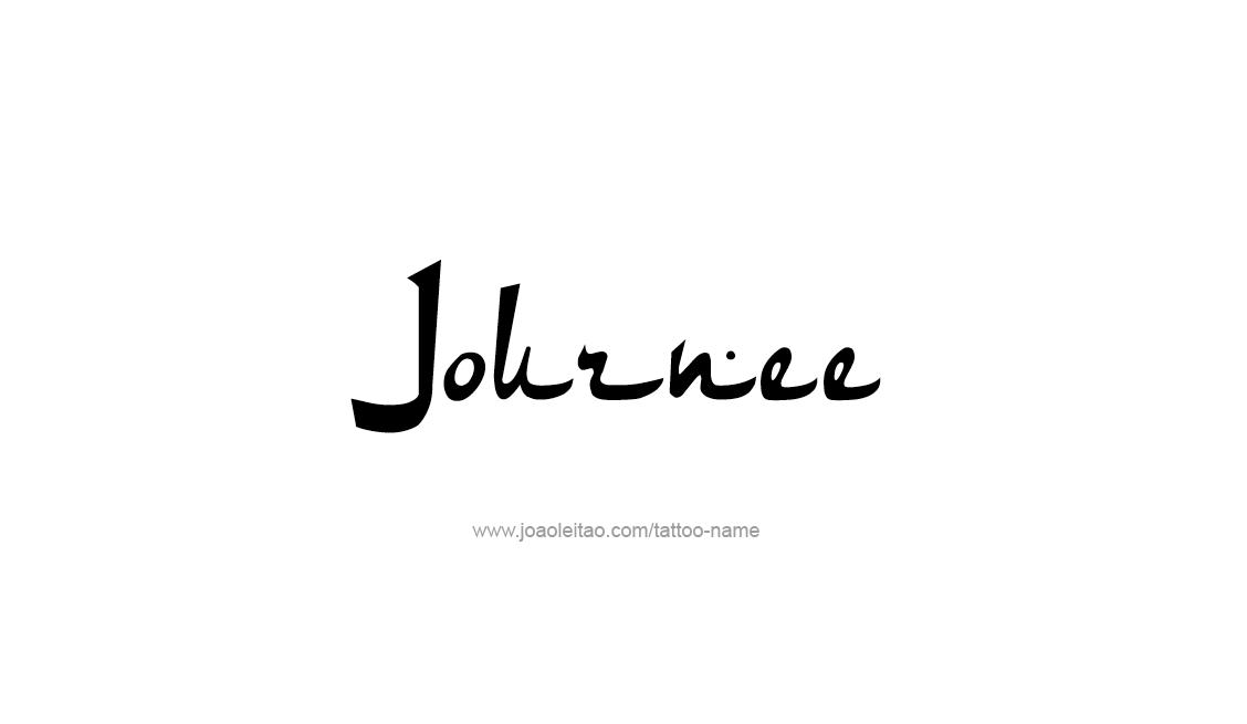 Tattoo Design Name Journee