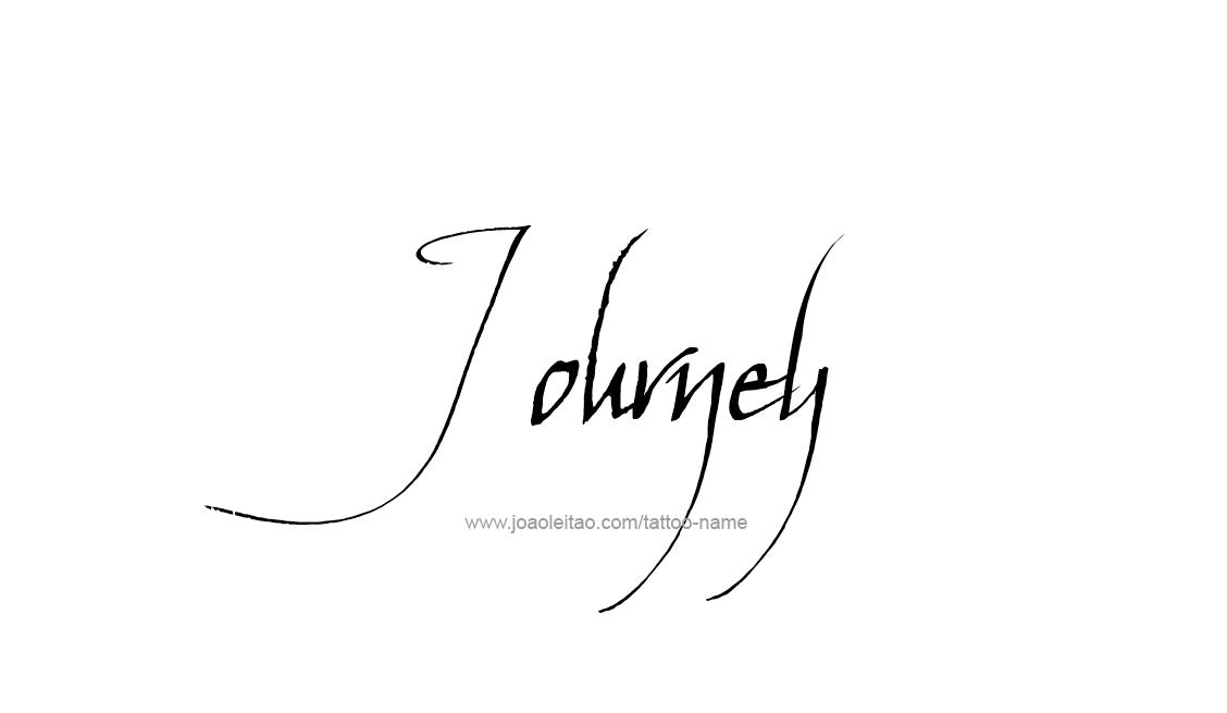 Tattoo Design Name Journey