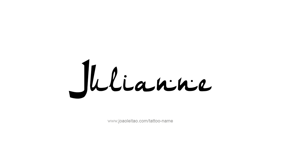 Tattoo Design Name Julianne