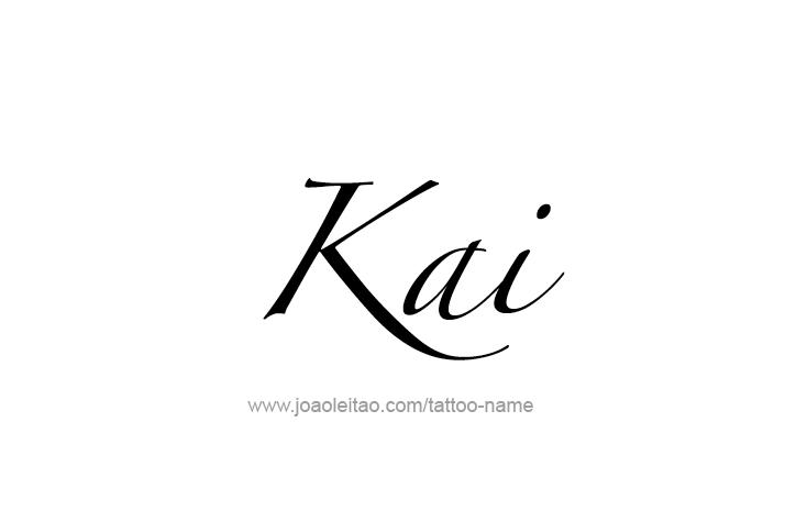 Tattoo Design Name Kai