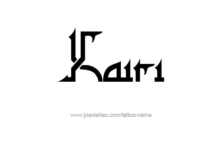 Tattoo Design Name Kairi