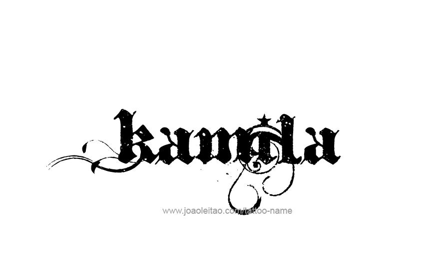 Tattoo Design Name Kamila