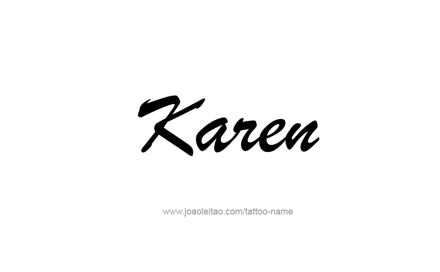 Karen - Meaning of Name