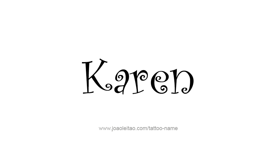 Karen Name Meaning & Origin | Baby Name Wizard