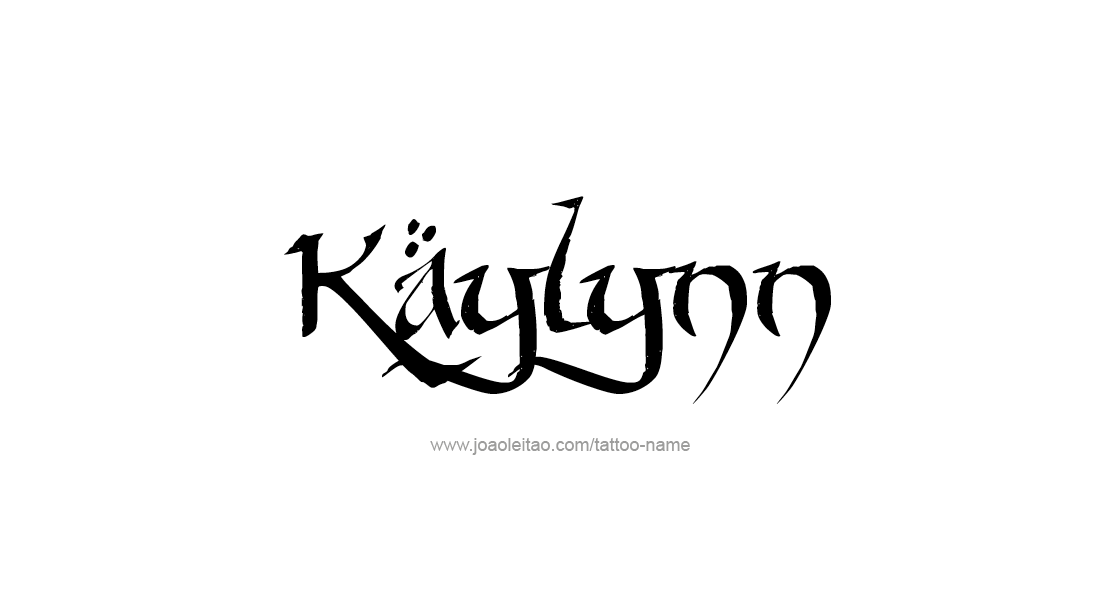 Tattoo Design Name Kaylynn