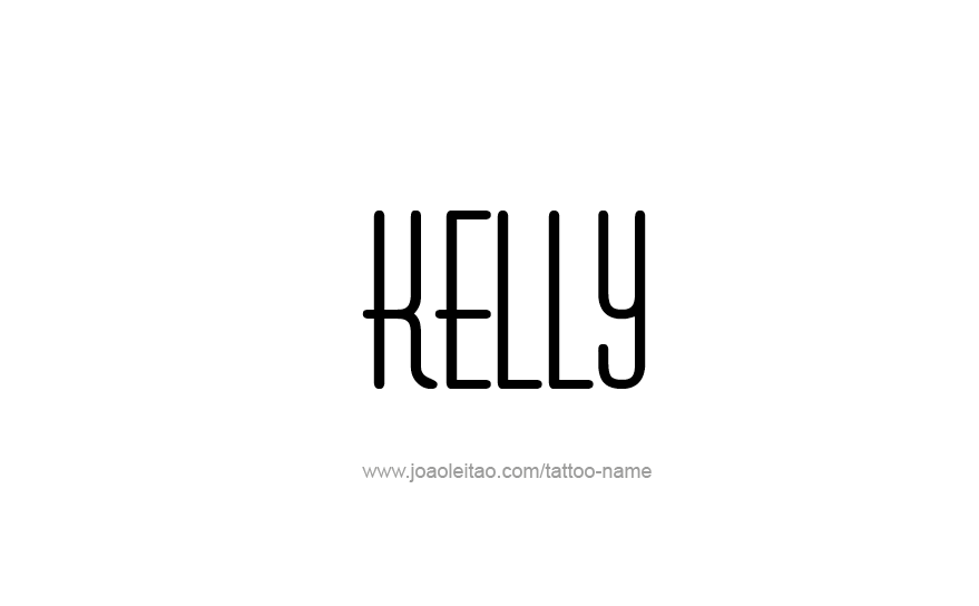 Tattoo Design Name Kelly