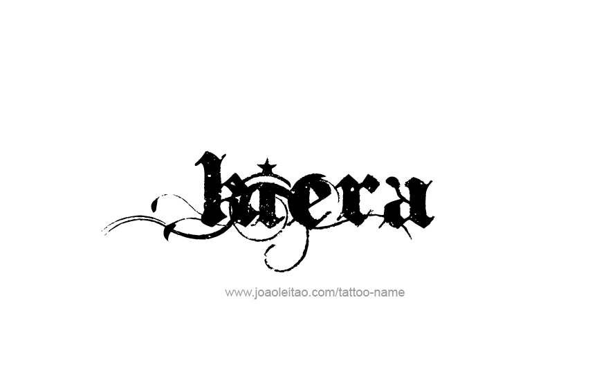 Tattoo Design Name Kiera