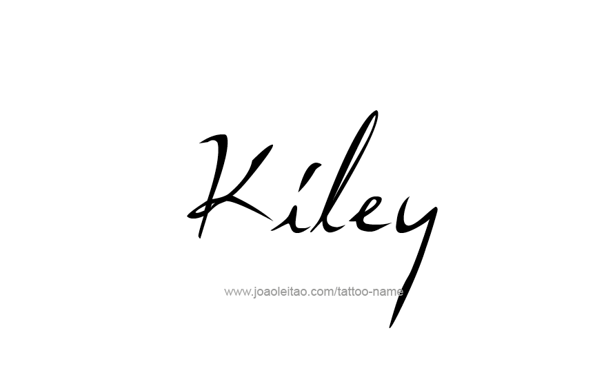 Tattoo Design Name Kiley
