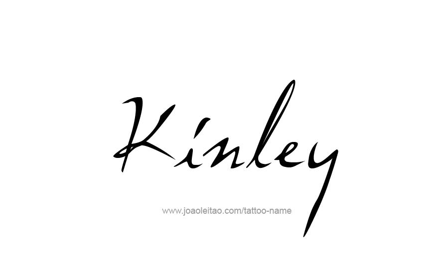 Tattoo Design Name Kinley
