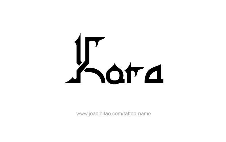 Tattoo Design Name Kora