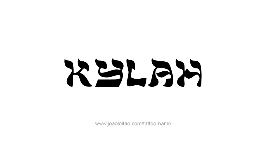 Tattoo Design Name Kylah