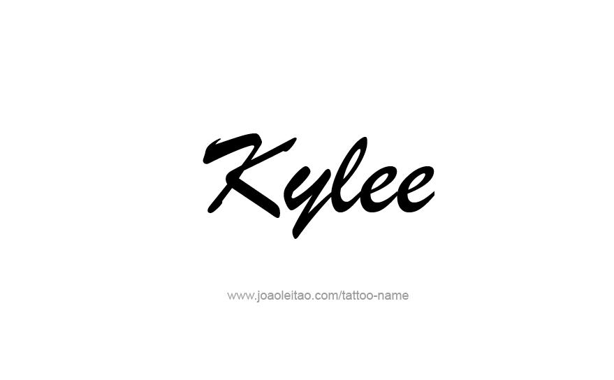 Tattoo Design Name Kylee