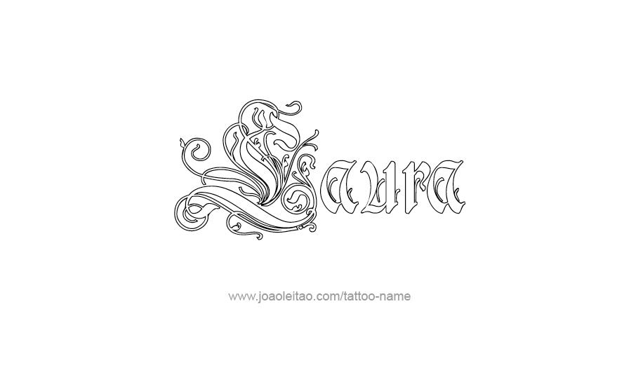 Upper Arm Tattoo Ideas For Men Laura Name Tattoo Desi...