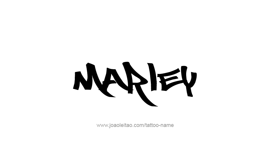 Tattoo Design Name Marley