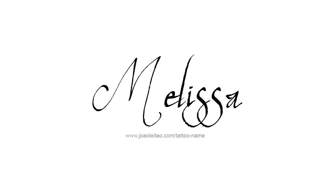 melissa Archives - Free Name Designs