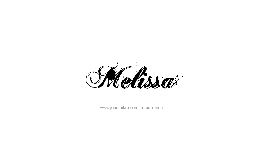 Melissa in Japanese. Very cool. | Melissa name, Name ...
