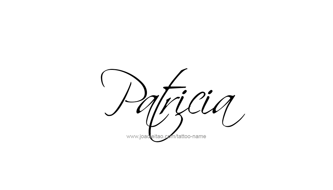 Tattoo Design Name Patricia
