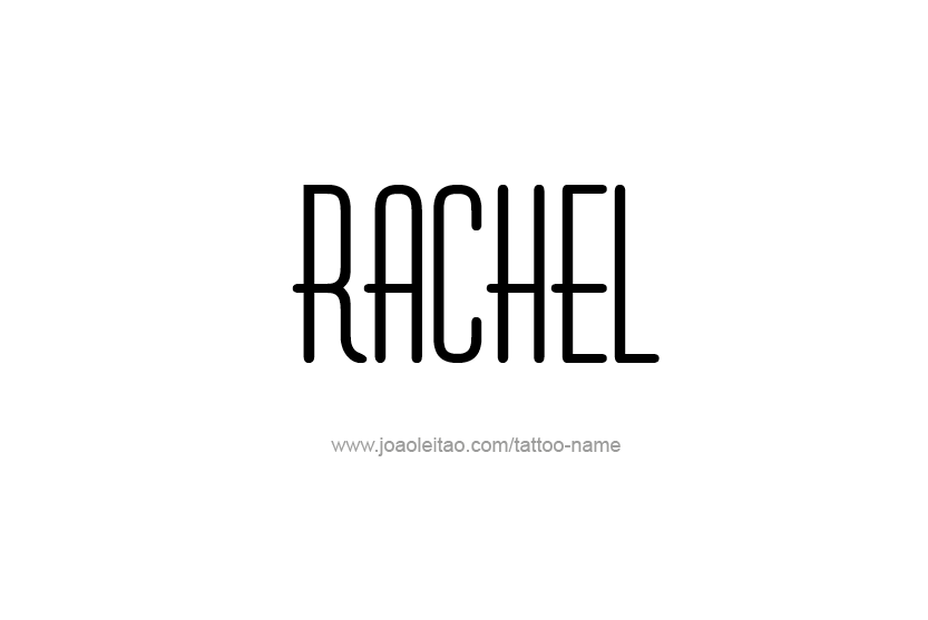 Rachel Logo | Name Logo Generator - Smoothie, Summer, Birthday ...