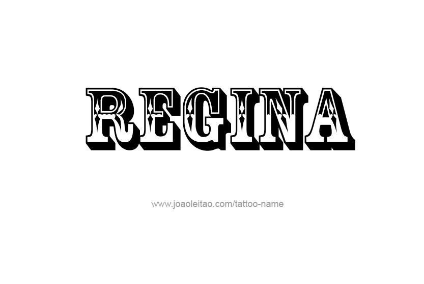 Name Regina