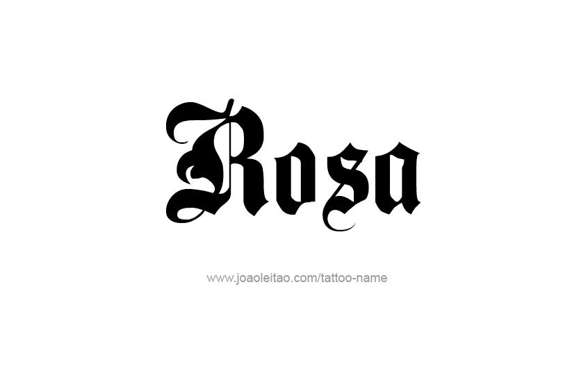 Rosa Name
