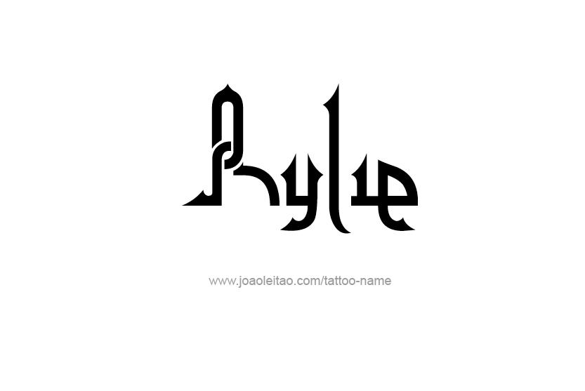 Tattoo Design Name Rylie