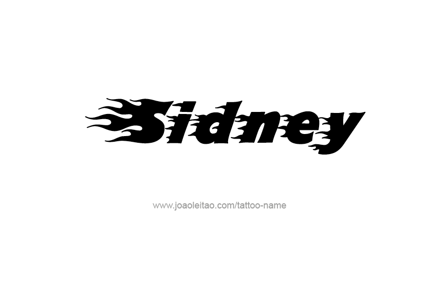Tattoo Design Name Sidney