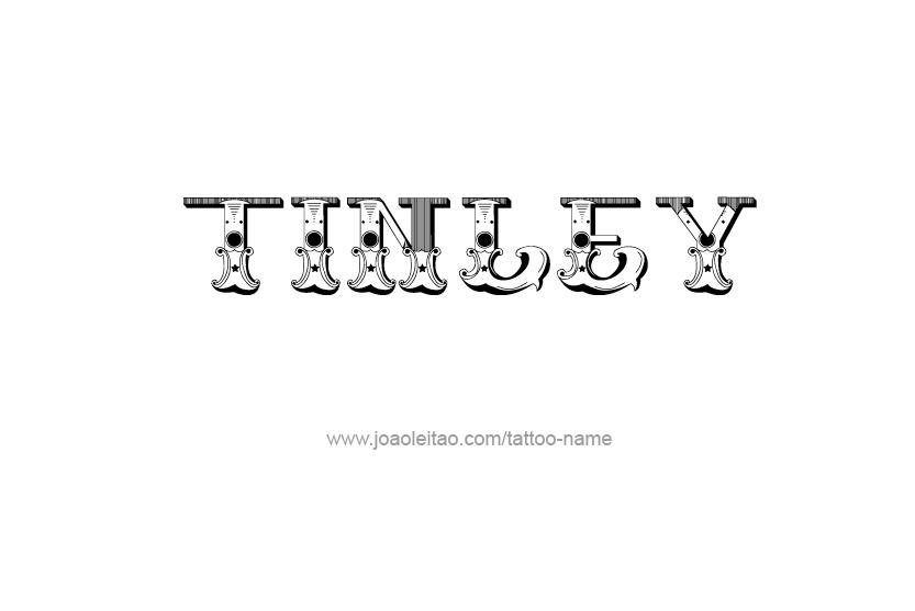 Tattoo Design Name Tinley