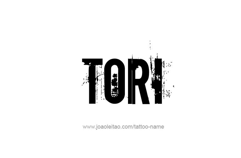 Tattoo Design Name Tori