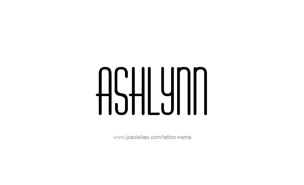 Tattoo Design  Name Ashlynn