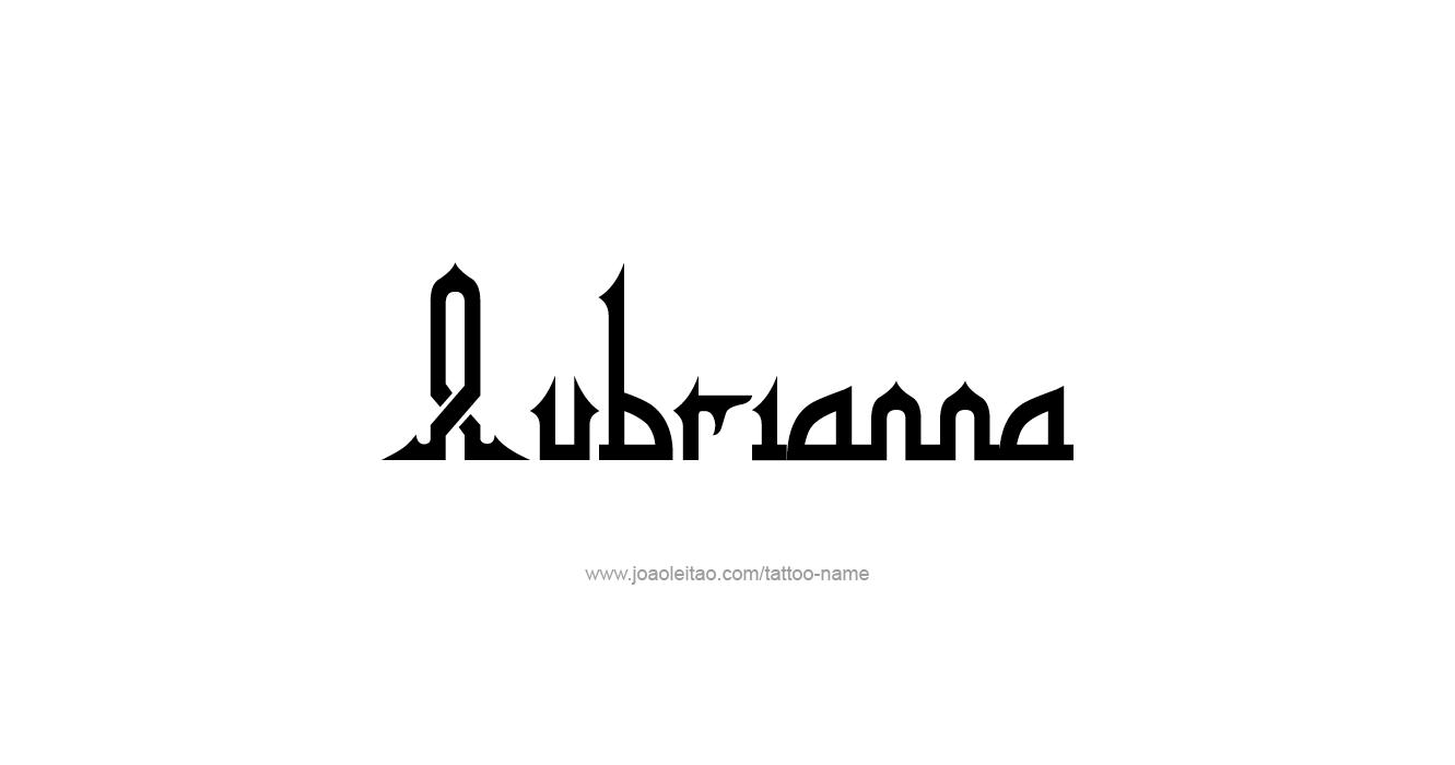 Tattoo Design  Name Aubrianna