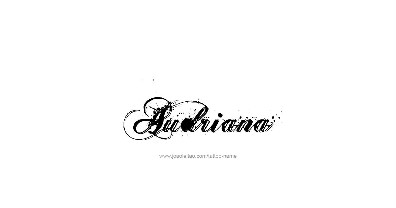 Tattoo Design  Name Audriana