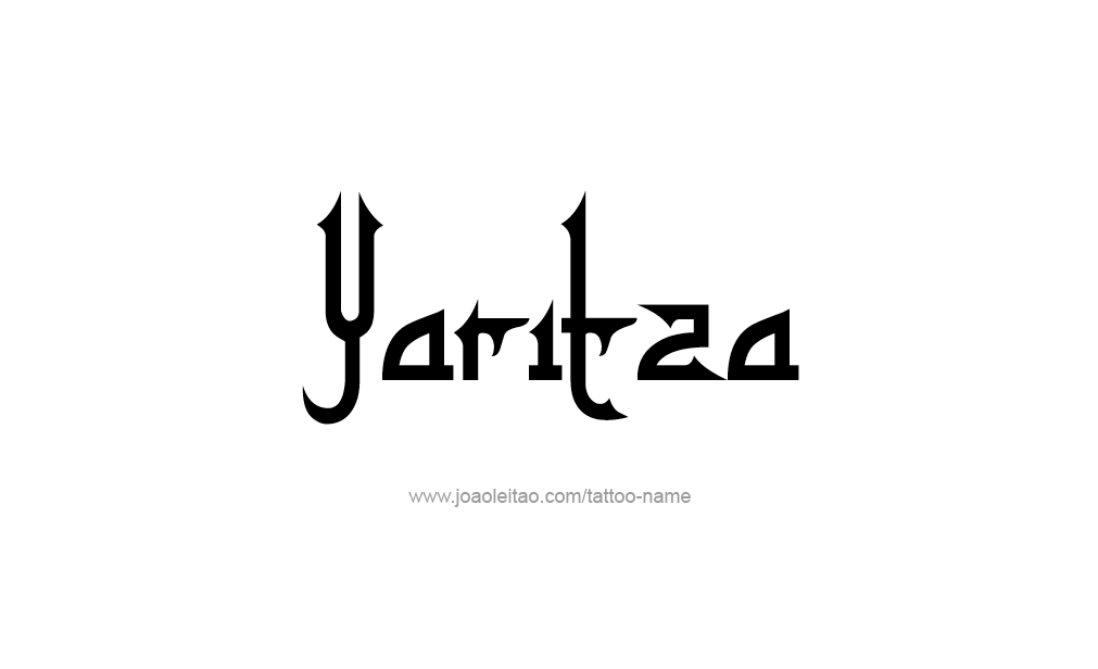 Tattoo Design  Name Yaritza