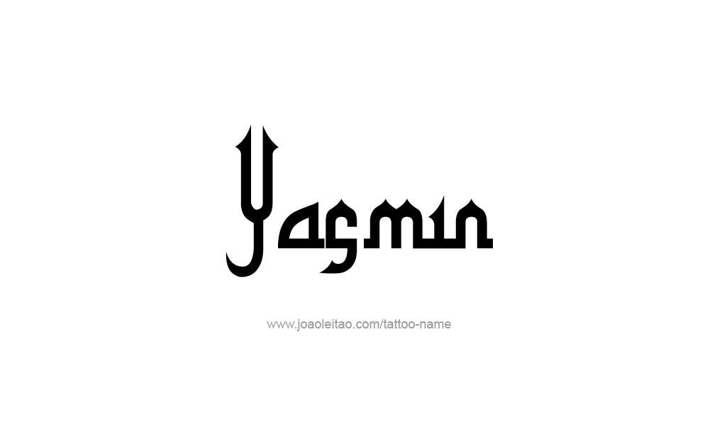Tattoo Design  Name Yasmin