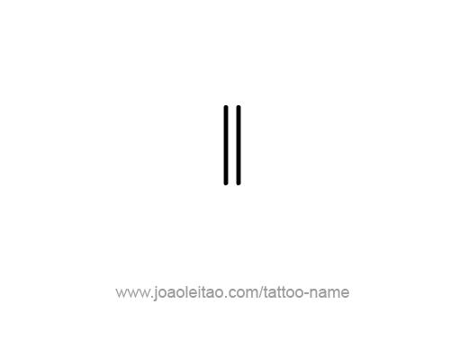 Tattoo Design Number Eleven
